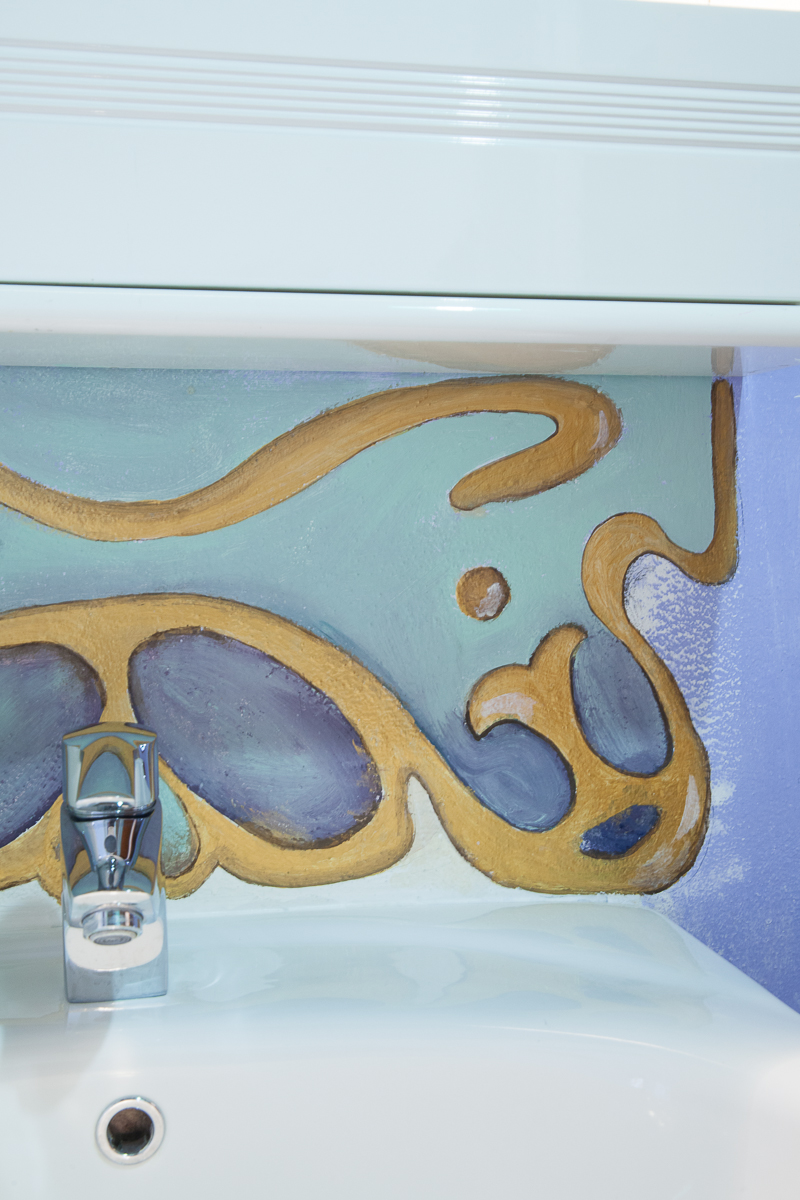 Particolare bagno -camera Vittorio